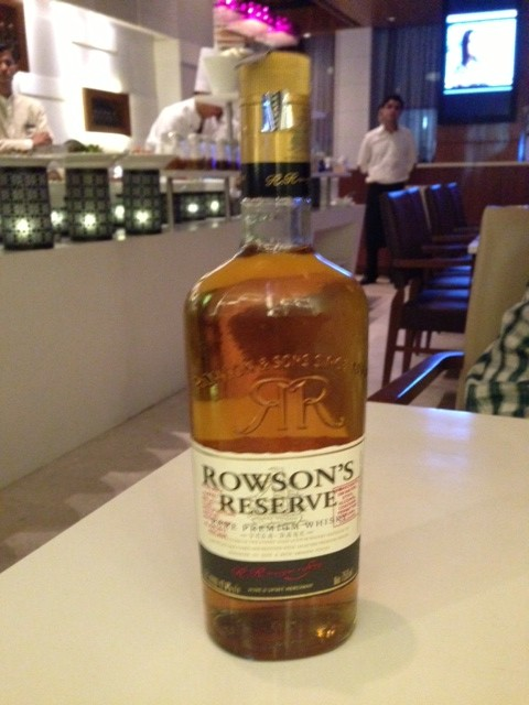 The great Rowson Whiskey