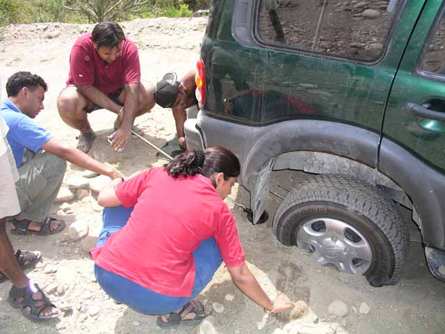 03-Chamba-First-and-only-car-stuck